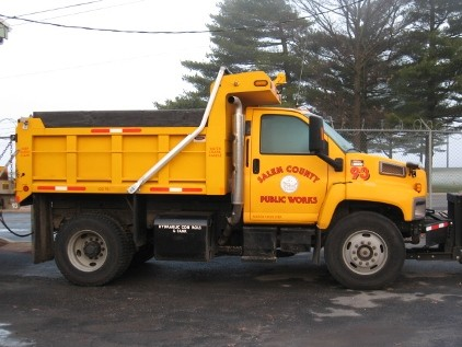 Salem County Public Works Truck
